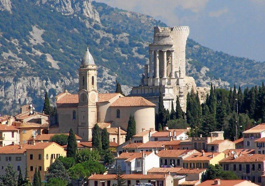 Monaco - La Turbie - Cliffs
