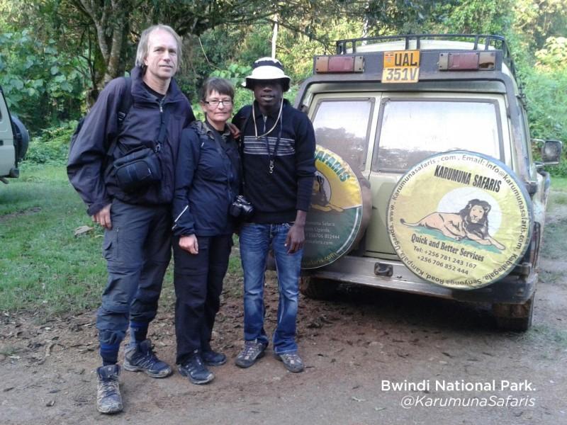 Gorilla trekking 3 days safari