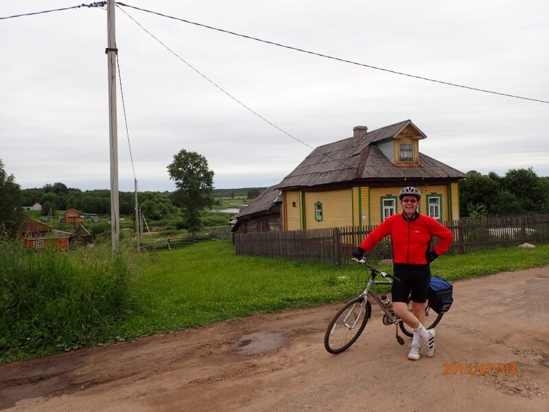 Golden Ring of Russia bicycle tour  12 days