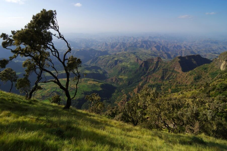 Drive to Simien Mountains