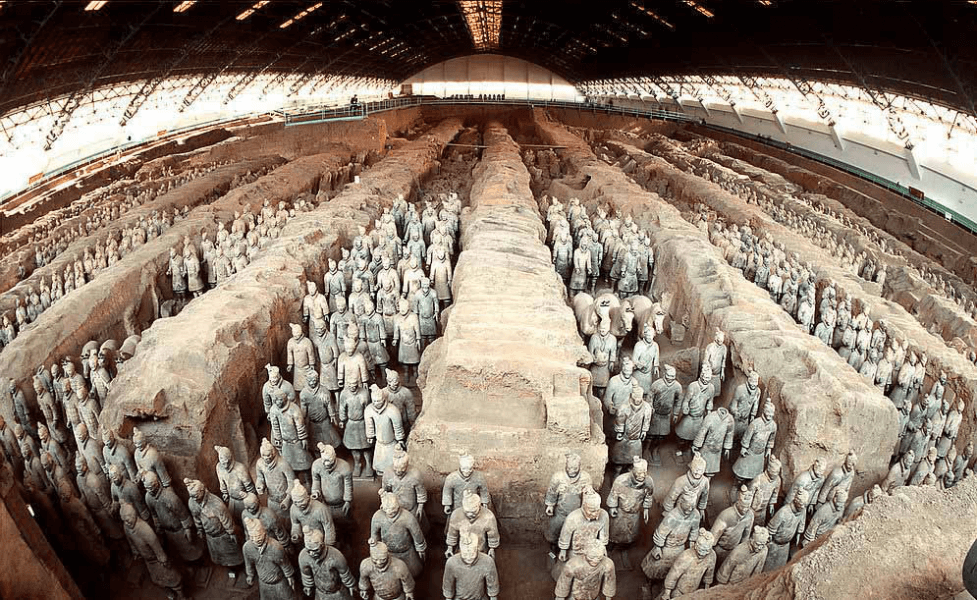 Beijing-Xi'an-Shanghai