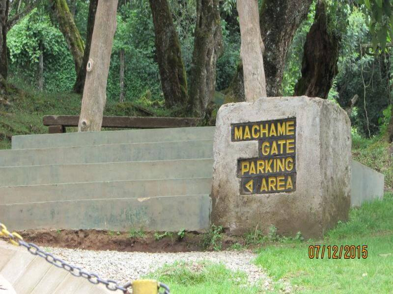 MACHAME GATE-MACHAME CAMP