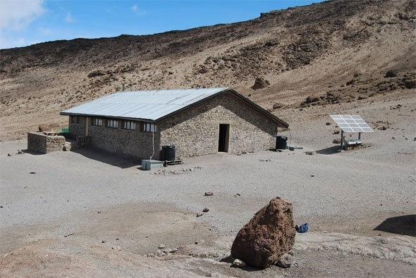 HOROMBO HUT (3700M) TO KIBO