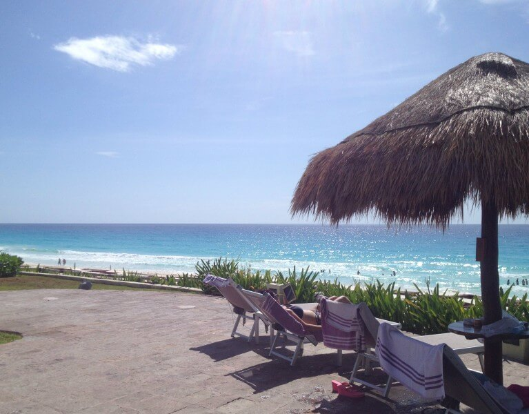 Arrival to Cancun