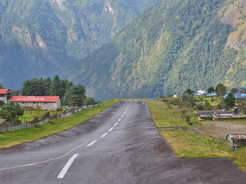 Fly Kathmandu to Lukla