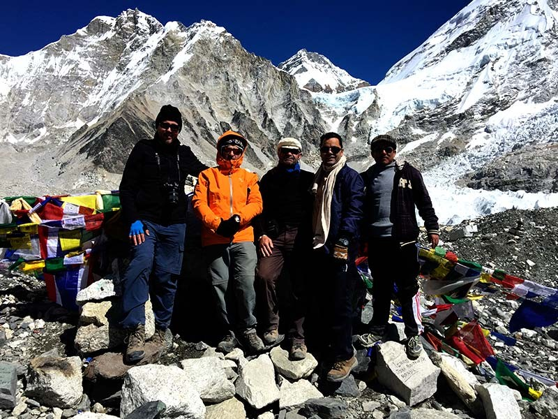 Everest Base Camp via Gokyo Lakes Trek