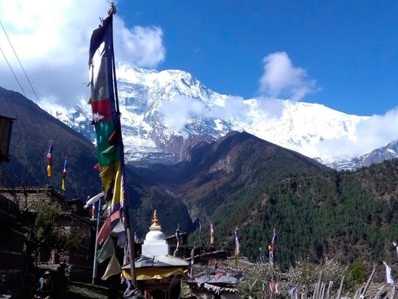 Rest in Manang (3500m)