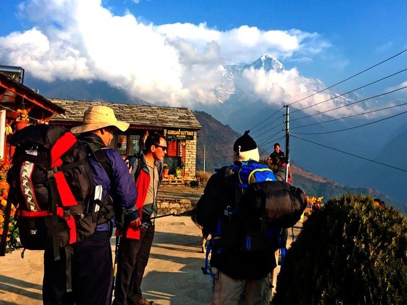 Ghandruk to TadapaniOvernight in Tadapan