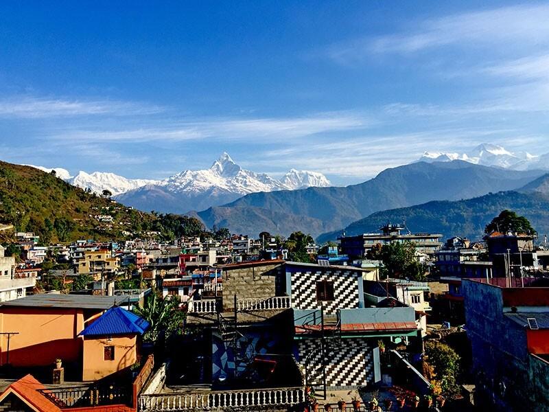 Fly back to Pokhara