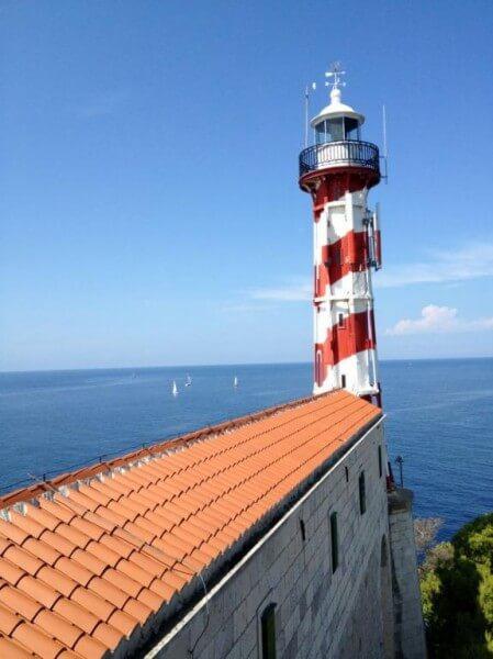 Saling to NP Kornati islands