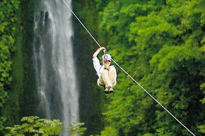Canopy + Waterfall Tour