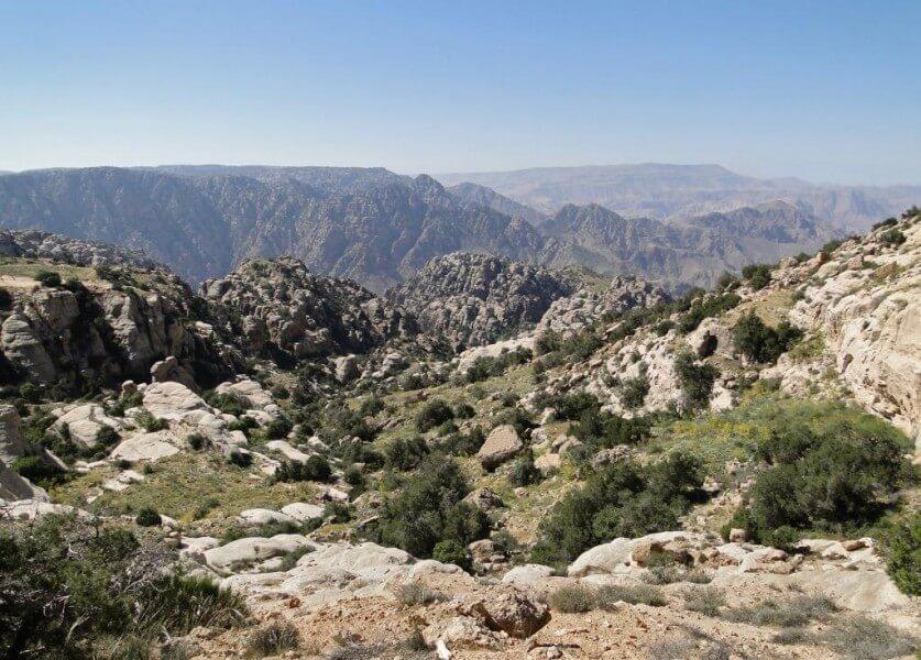 Karak, Kings Highway & Dana