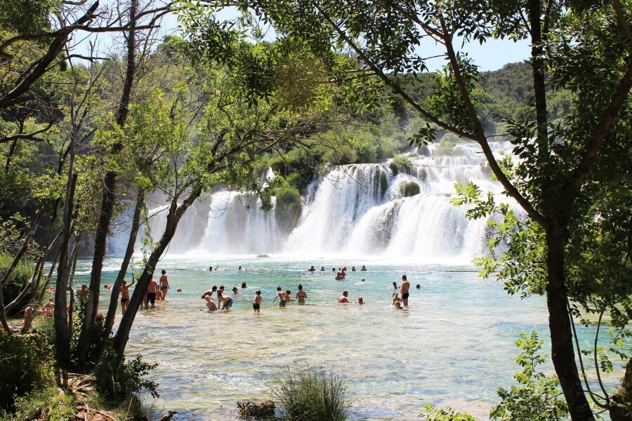 NP Krka Waterfalls - Trogir