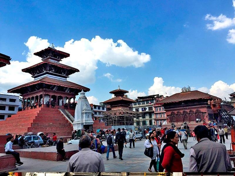 Leasure Day in Kathmandu.