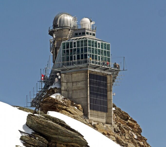 Europe's highest railstation