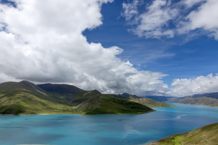 Lhasa - Yamdrok lake -