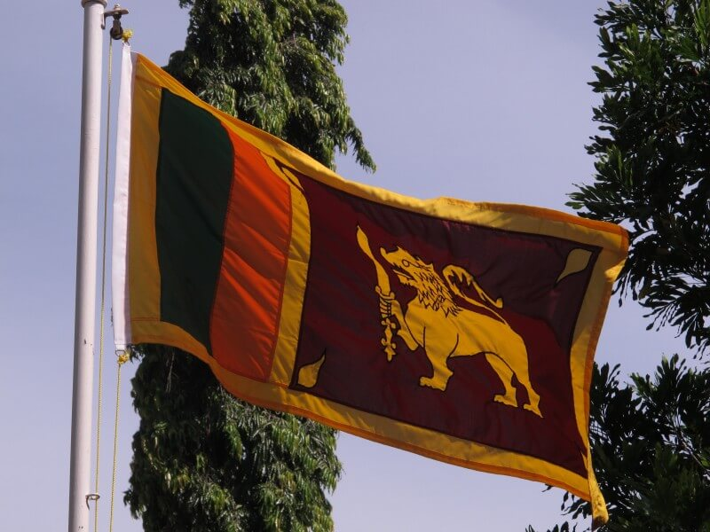 Arrival at Colombo Srilanka.
