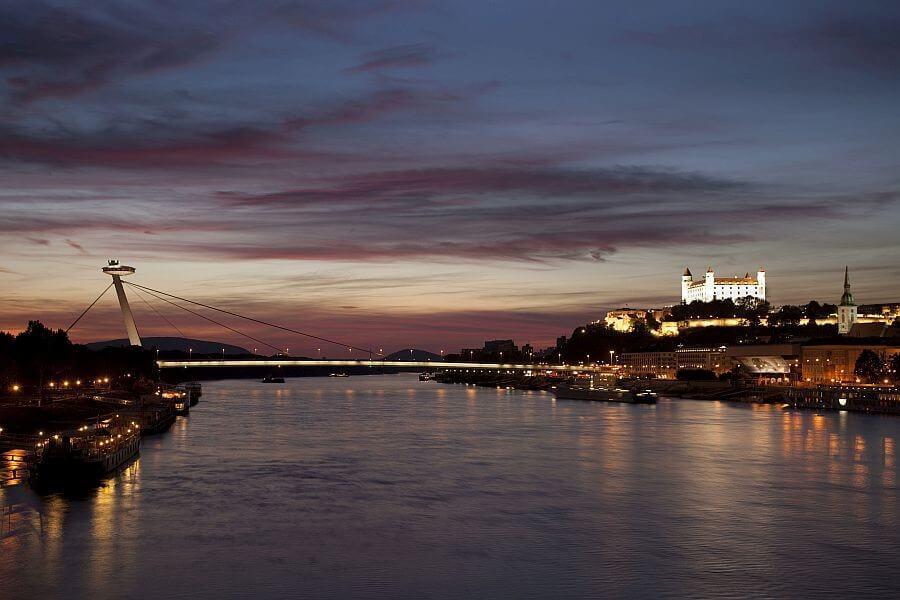 Arrival in Bratislava
