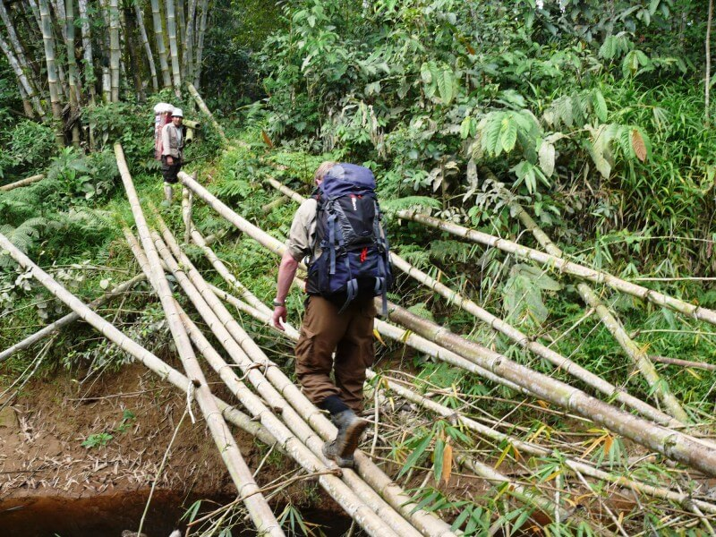 5 Days Bamboo Rafting at South Borneo