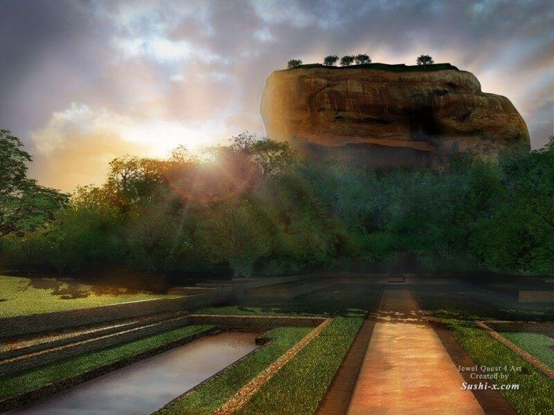 Sigiriya Lion's Rock & Kandy