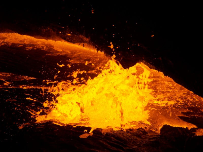 Ert'ale Volcano