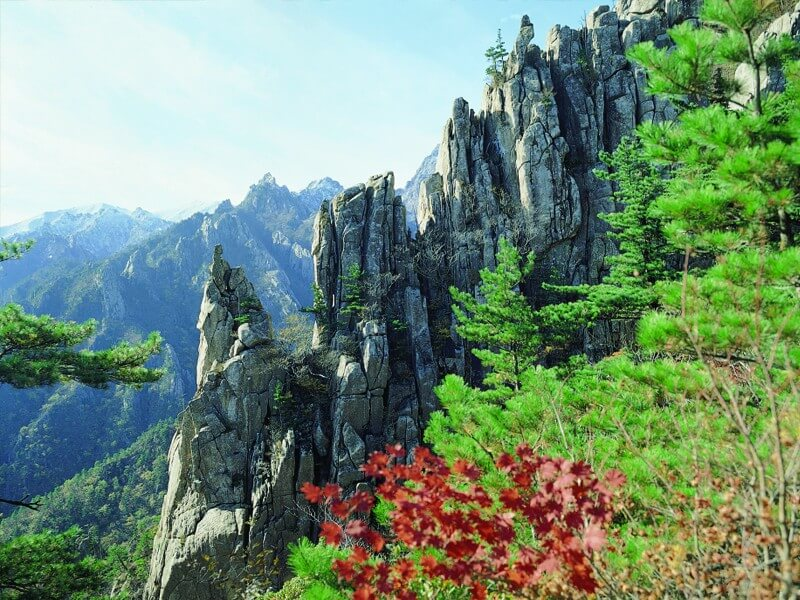 The Most Spectacular Landscapes, GANGWON