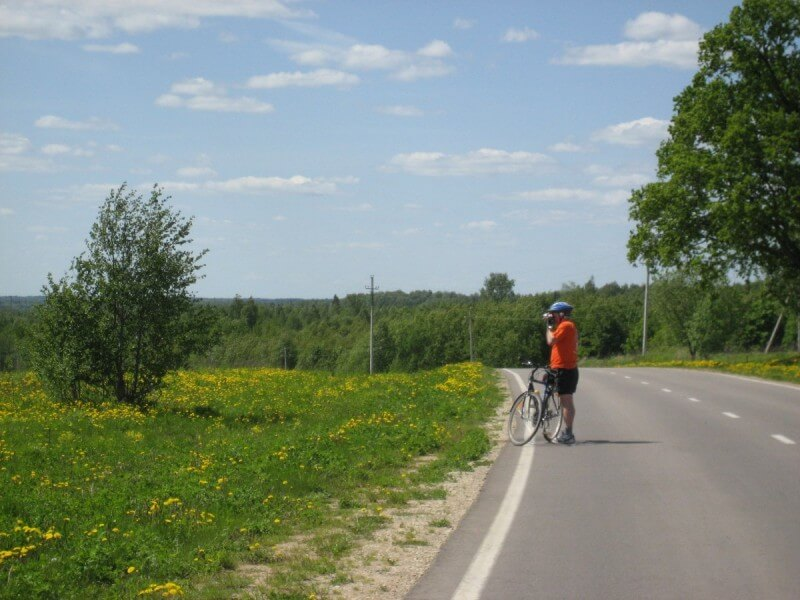 Cycling Moscow and vicinity 3 days