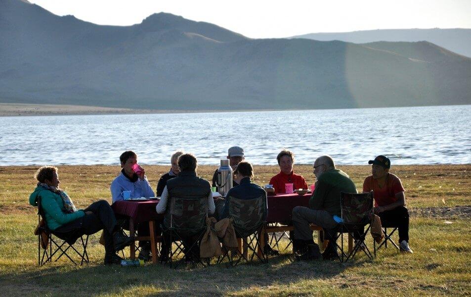 Trekking to the Tsaachin community in mystical Taiga