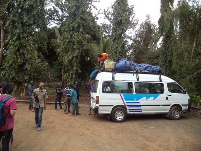 Mweka Camp -Mweka Gate