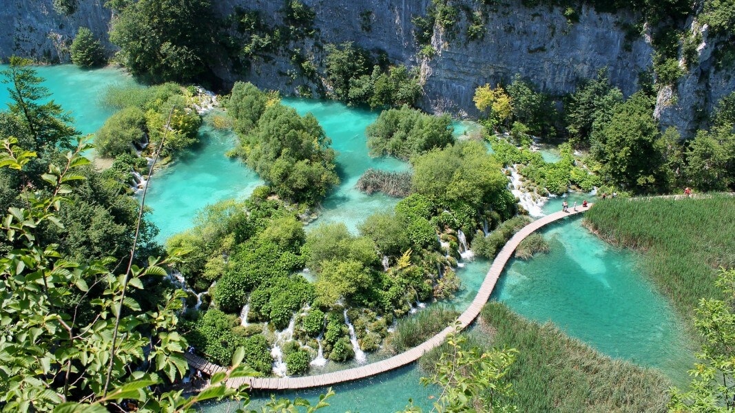 Plitvice lakes and Rovinj
