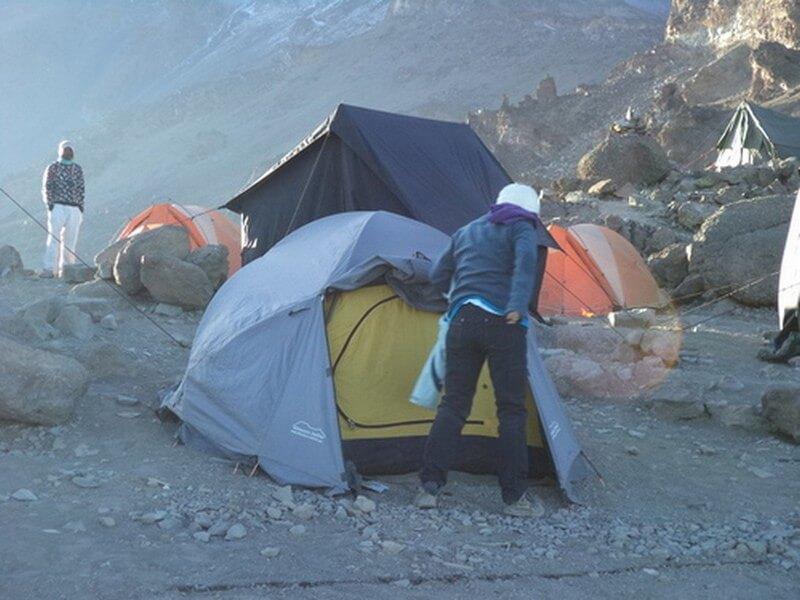 Shira Caves - Barranco Camp
