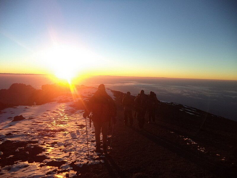 Mount Kilimanjaro Climbing via Lemosho Route 10 Days