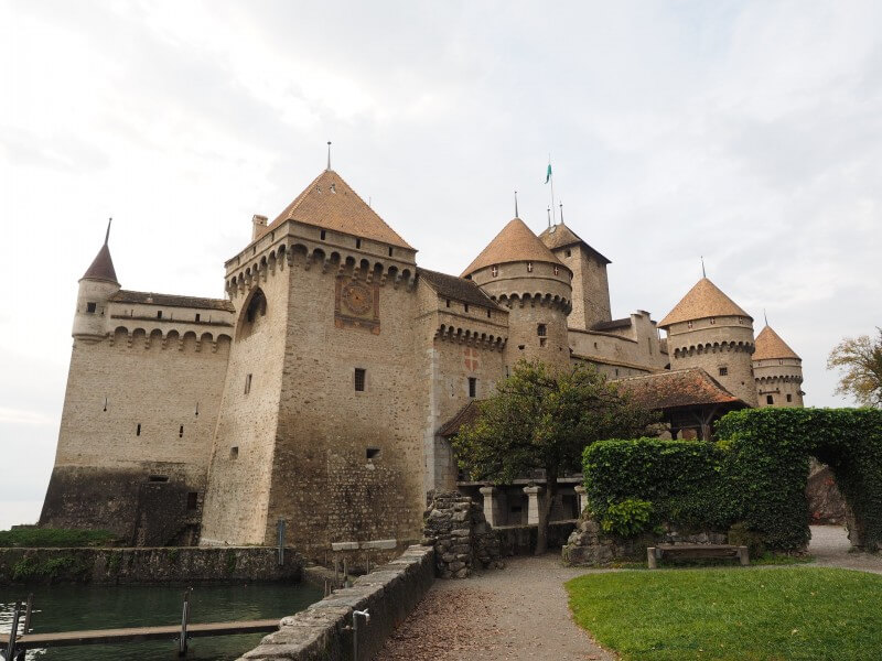Charming Chillon castle