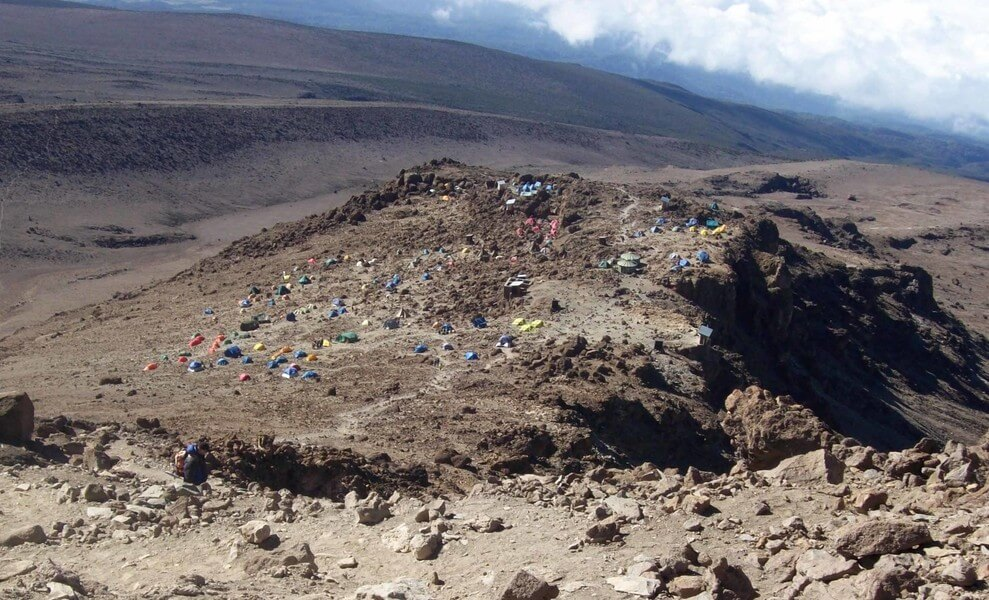 Barranco Camp- Barafu Camp