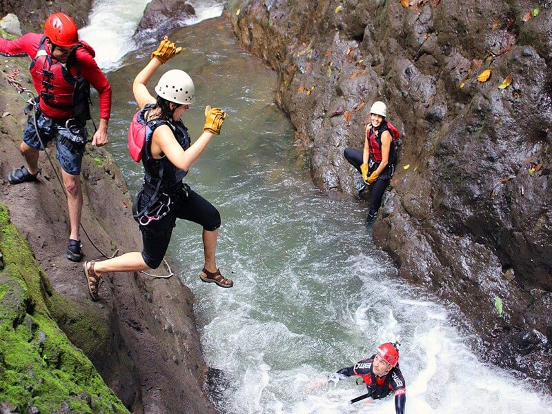 EXTREME CANYONING TOUR IN TH