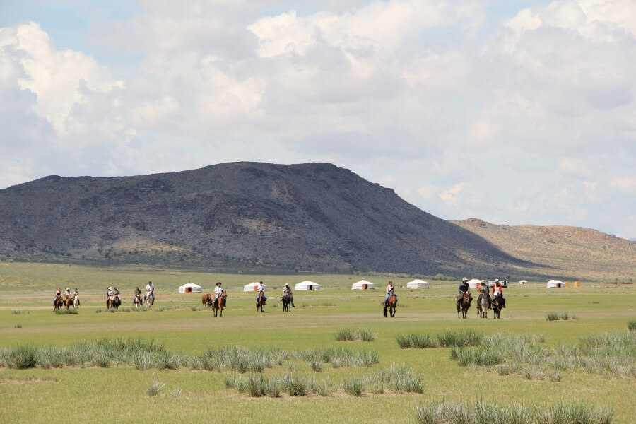 Traditional Naadam Festival