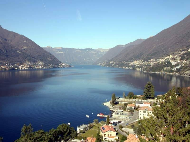 Como: city and lake