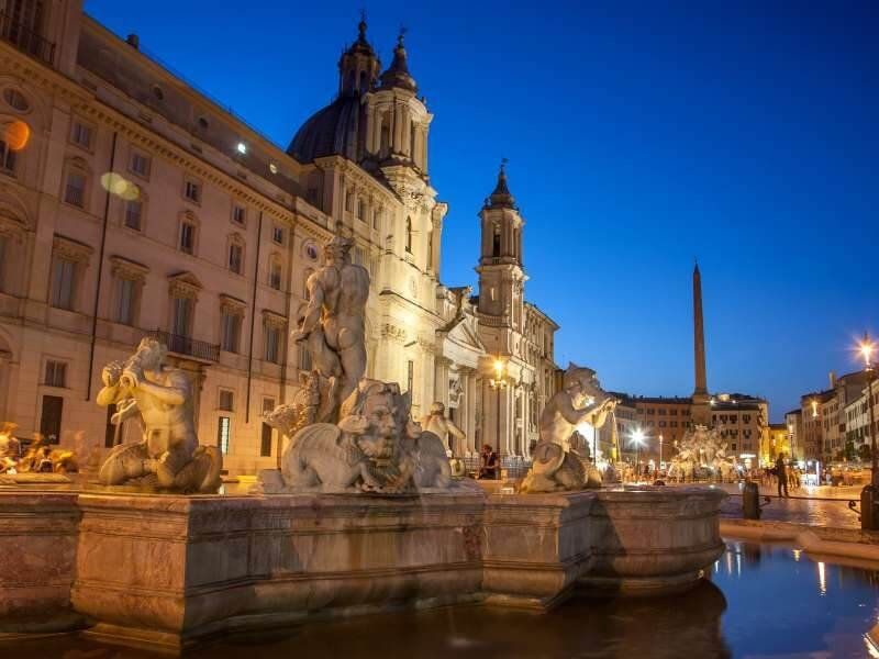 FLY&DRIVE ROME AND TUSCANY: LANDSCAPE, ARTISTIC HERITAGE, FOOD AND WINE