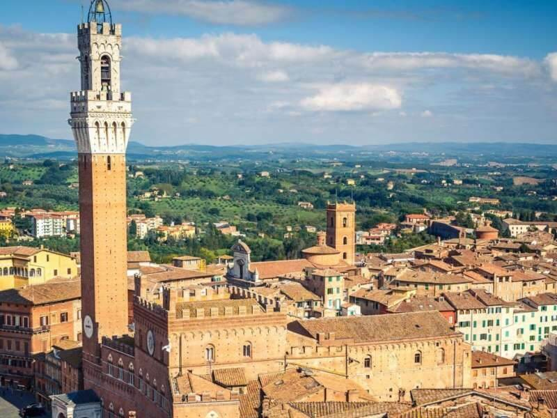 Siena: visit of the city and