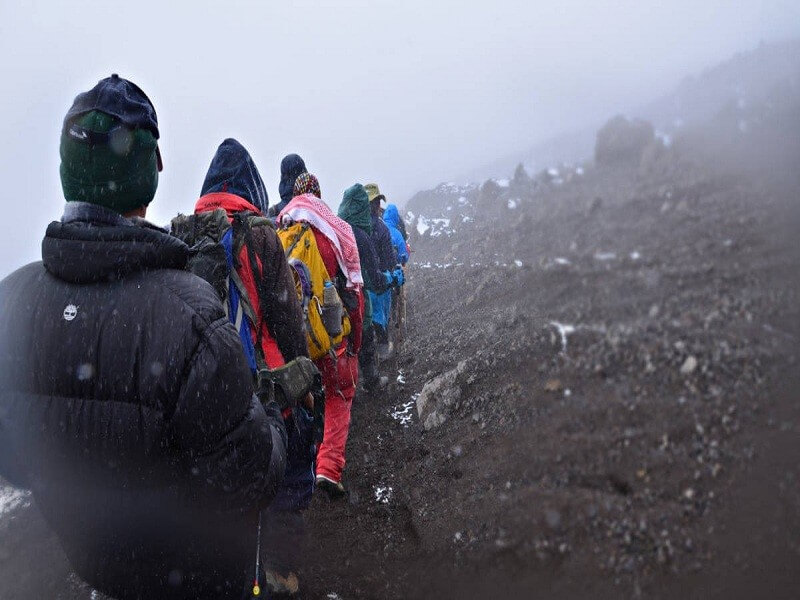 7 Days Lemosho route Mt.Kilimanjaro trekking