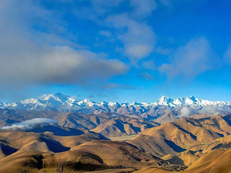 4 Days Lhasa to Everest Tour