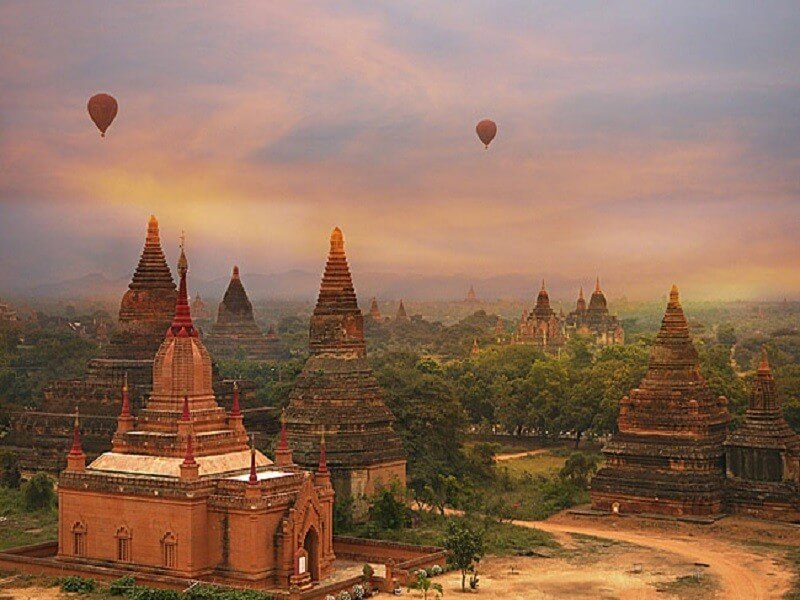 7 days Highlights of Myanmar (Yangon - Bagan - Inle)