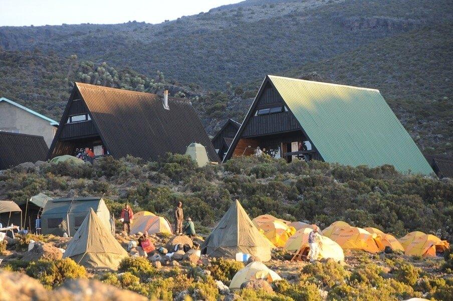 Horombo Hut- Acclimatization