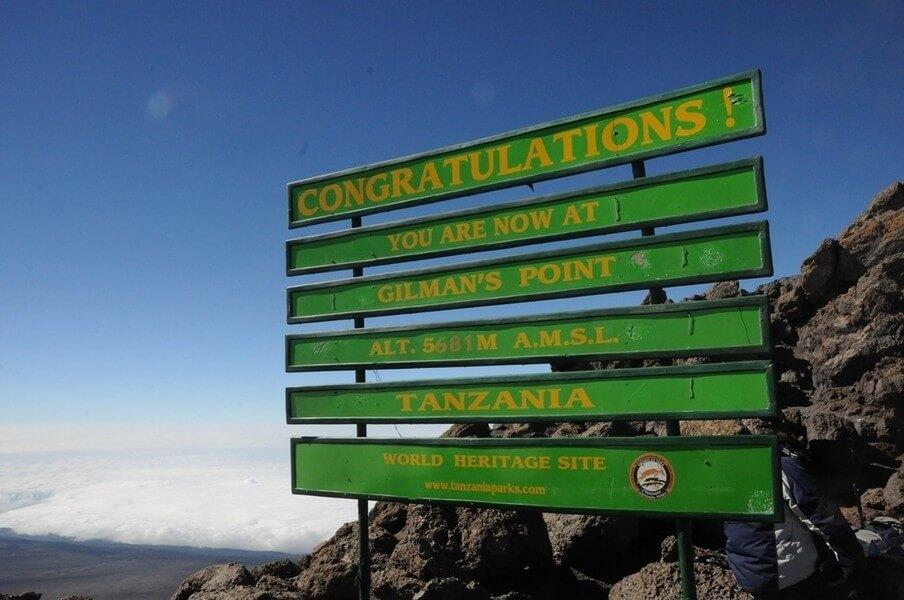 Kibo Hut-Uhuru peak- Horombo