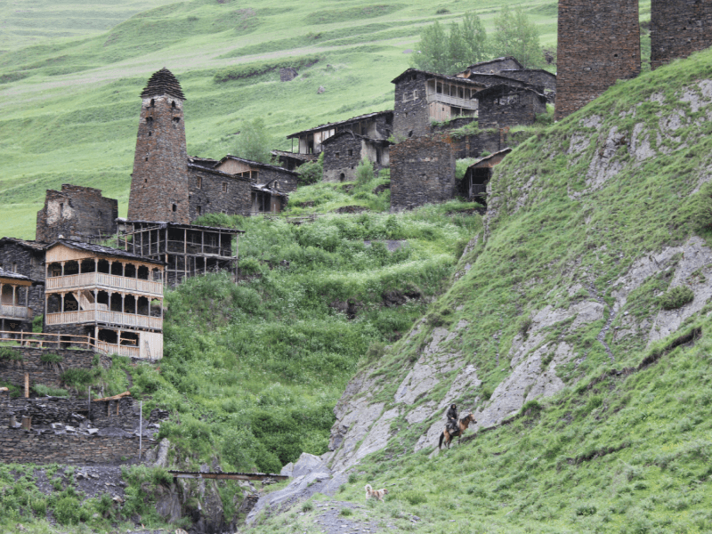 Hiking in Khevsureti & Tusheti (two weeks)