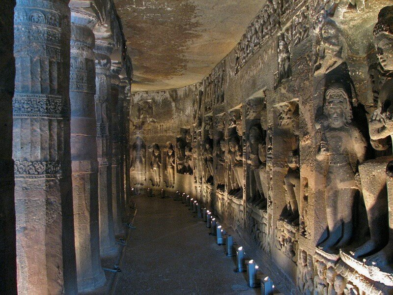 ajanta and ellora are the pride