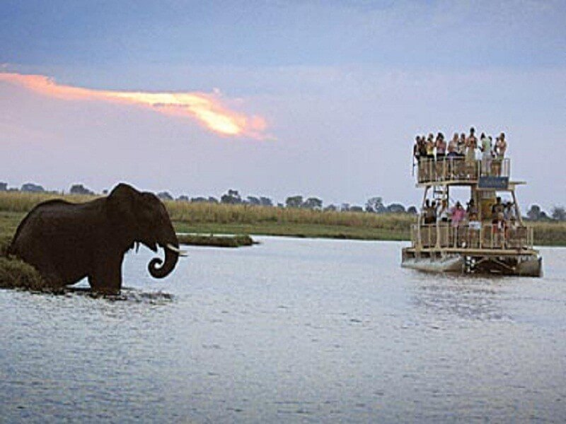 5 Days Victoria Falls Town, Zimbabwe. Livingstone, Zambia & Chobe National park