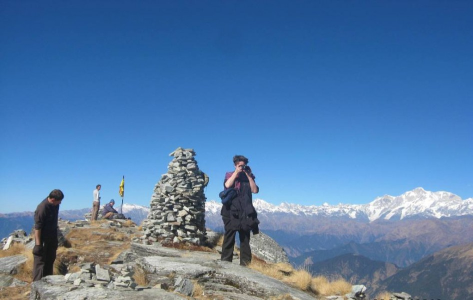 Tungnath-chandrashila : Trek to the highest Temple in the world