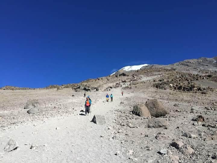 6 DAY- UMBWE ROUTE KILIMANJARO CLIMBING