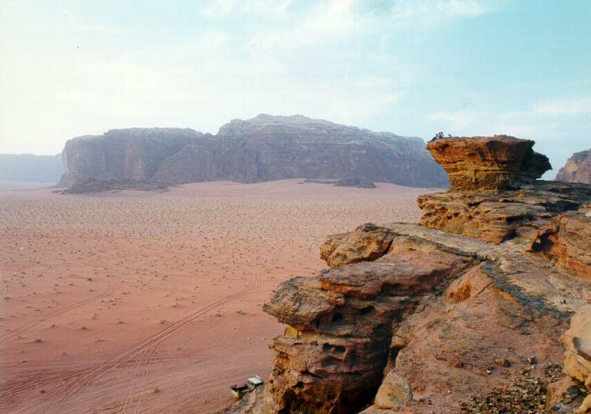 The Red Desert of Jordan